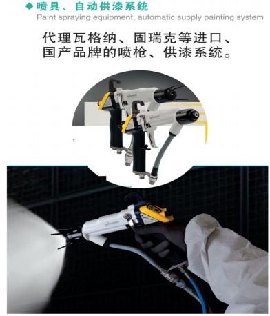 喷具、自动供漆系统